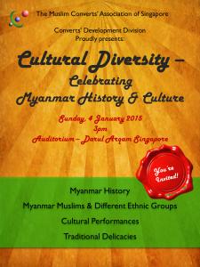 Cultural Diversity - Celebrating Myanmar History & Culture