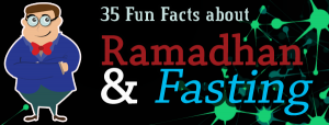 35 Fun Facts About Ramadhan & Fasting